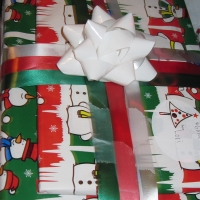 Christmas Countdown #5 = Wrapping presents!