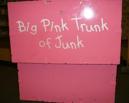 June B Jones Pink Trunk
