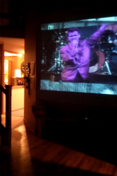Morrissey video wall